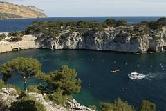 Calanque de Port Pin (Michel Seguret thanks you all for + 6.900.000 view) Tags: blue mer france water azul creek agua eau wasser blu teal bleu provence blau acqua cassis calanque mediterranee worldtrekker