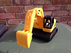 Sholley the digger man (kenjonbro) Tags: uk england plant apple toy kent construction lego digger loose minifigure shepway sholley iphone5 kenjonbro uploaded:by=flickrmobile flickriosapp:filter=nofilter