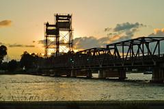 Sunrise over the Clyde (tiabunna) Tags: bridge clouds sunrise reflections river prime bay clyde focus australia m nsw manual smc lifting 5014 batemans k30 lenspentax