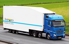 Mercedes Actros new look DK13 YVL (gylesnikki) Tags: blue truck artic mp4 ambroses