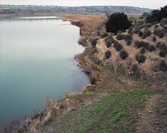 (Andrs Medina) Tags: film mediumformat river landscape spain 6x7 andresmedina