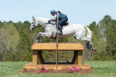 Becky Holder & Can't Fire Me (mandythedesigner) Tags: horses horse jumping crosscountry riding xc partnership equestrian thoroughbred horsebackriding bravery courage eventing sporthorse solidjumps