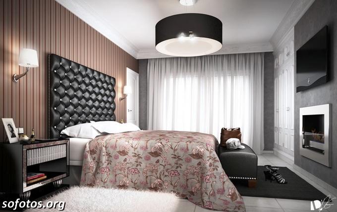 quarto de casal dos sonhos vintage