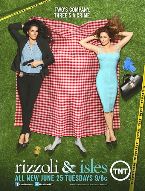 Poster Rizzoli & Isles-saison 4 (puzzle) / Rizzoli & Isles-season 4 poster