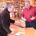 "Signing more books<a href=""http://farm9.static.flickr.com/8117/8714874168_58d8d97f74_o.jpg"" title=""High res"">∝</a>"