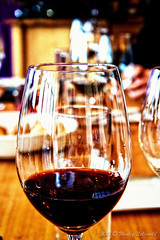 A Glass of Wine A Day Keeps The Doctor Away (Wesley Lelieveld Photography) Tags: party glass coffee canon eos wine diner collection press 1000d tropacafe
