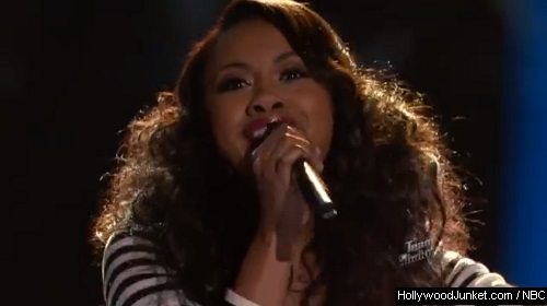 "Sasha Allen ""Next To Me"" – THE VOICE Live Show Night Two Video"