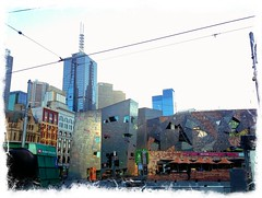 Fed Square looks like a postcard this morning (hbailie) Tags: melbourne