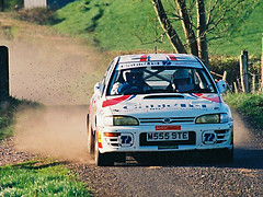 Circuit of Ireland 1994 - 1995 (Aidophoto) Tags: ireland cars car action rally subaru sti rallye motorsport prodrive rallying circuitoffirelandrally19941995