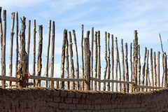 Fenced Cemetery (Michael Deleon Photo) Tags: newmexico architecture buildings unitedstates fences historic nativeamerican adobe taos taospueblo