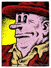 R. Crumb Trading Cards - Bo Bo Bolinski (oerendhard1) Tags: art robert illustration comics underground cards comic drawing humor cartoon bobo collection trading comix characters crumb rcrumb stripverhaal undergroundcomics stripfiguur oerendhard bolinski