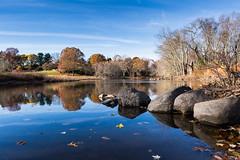 Battle of Lexington (Kevin Hatcher Photography) Tags: autumn sunset fall canon landscape concord autumnal 5dmkiii