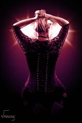 Woman in Girlde (Blendzeitstimmung) Tags: girdle corset korsett