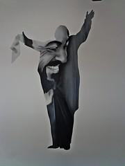 """MILANO - Ristorante Museo """" Pavarotti """" Murales (cannuccia) Tags: milano musica murales ritratti lombardia interni ristoranti lucianopavarotti lirica tenori"""