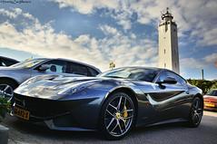 Ferrari F12 near the beach (MostlyCarPhoto's) Tags: ferrari f12 supercar spot exotic noordwijk lighthouse netherlands italian v12 fast speed nikon d5200 worldcars