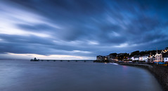 Blue Hour High Tide (~g@ry~ (clevedon-clarks)) Tags: clevedon clevedonpier longexposure 6stopnd nikkorafs1635mmf4gedvr seascape seafront victorian victorianpier somerset northsomerset hightide hitechfilters clouds storm lights
