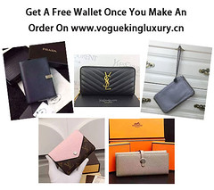 Get A Free Replica Wallet (ReplicaBags) Tags: handbags wallet designer fashion beauty replicahandbags discount voguekingluxury lv hermes prada