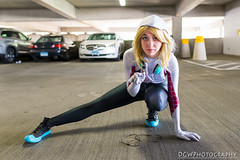 Spider Gwen - TerrifiCon (dgwphotography) Tags: 28mmf18g nikond600 cosplay spidergwen marvelcomics marvel terrificon