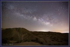 Owl Canyon Camping 3323-24 (maguire33@verizon.net) Tags: california milkyway mojavedesert owlcanyon rainbowbasin camping galaxy stars unitedstates us