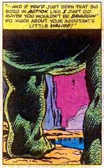If you'd just seen that big bozo in action (Tom Simpson) Tags: godzilla godzillakingofthemonsters comics comicbook vintage art kaiju 1977 1970s herbtrimpe jimmooney dougmoench marvelcomics