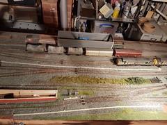 station throat (Trev 'Big T' Hurley) Tags: longlanewrd staticgrass noch grassmaster 00 00scale layout