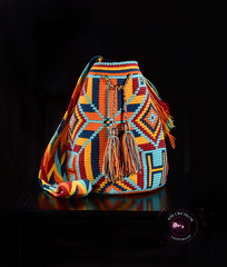 Mochila multi-color (kimberlycrichlow) Tags: wayuu mochila wayuufashion colombia fashion bags handmade colorful patterns genuine productphotography nikonphotography diseno