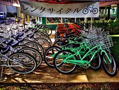 Rent Me! (jcc55883) Tags: bikes bicycles bikerental kailua kailuaroad hamakuadrive hawaii oahu sign hawaiisign ipad ipadair