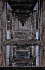Under the bridge (nunziod83) Tags: ponte prospettiva profondità finestra campotosto abruzzo lago