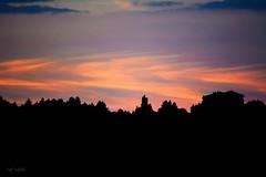 Dare to dream.. (renkata23) Tags: sunset sky skyline clouds cloudy cloudporn silhouette trees house dusk twilight bulgaria nikon nikonbulgaria colorful colors colours color cloud colour closeup beautifullandscape landscape scenery scene outdoor