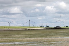 Wadden Sea II (tillwe) Tags: tillwe 201608 dagebll northsea waddensea windpower