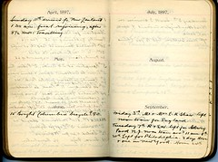 Diary of Robert Wallace p.36 (Community Archives of Belleville & Hastings County) Tags: 1880s 1890s 1900s 1910s 1920s diaries homechildren