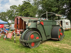 Wallis & Steevens Advance - POR 997 (Ben Matthews1992) Tags: muchmarcle steamrally 2016 england britain old vintage historic preserved preservation vehicle transport wallis steevens motorroller roller rolling advance ticktock por997 1956