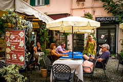 Taking a break. (Paul Griffiths Photos) Tags: ifttt 500px cafe coffee street photography italy sanremo bar restaurant drink italia