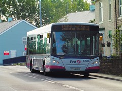 First Potteries 67639 - VX54 MRO (North West Transport Photos) Tags: first firstbus firstpotteries adl transbus dennis enviro e300 enviro300 67639 vx54mro bus