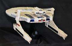 DSC_4712 (jonmunz) Tags: lego star trek spaceship uss reliant starship wrath khan