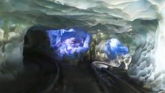 harold (Turnstiles gone by) Tags: disneyland matterhorn ride disney harold coaster theme ice fantasyland