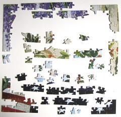 Patriotic Patty (Carol Lee Walker) - Start (Leonisha) Tags: puzzle jigsawpuzzle puzzlepieces puzzleteile