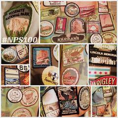 National Park Centennial (EllenJo) Tags: nps100 1916 nationalparkservice nationalparks patches souvenirs 19162016 august25 ellenjo
