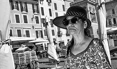 To late for the market. (Baz 120) Tags: candid candidstreet candidportrait city candidface candidphotography contrast street streetphoto streetcandid streetphotography streetphotograph streetportrait streetfaces monochrome monotone mono blackandwhite bw urban noiretblanc voigtlandercolorskopar21mmf40 life leicam8 leica primelens portrait people unposed italy italia grittystreetphotography faces flash flashstreetphotography decisivemoment strangers