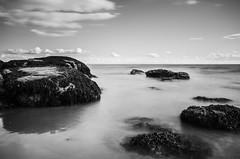Fife LE (2 of 10) (Muse2k8) Tags: fife scotland long exposure coast coastal sea beach black white zig zag st monans