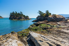 Cluster Islands + Kayaker (erickPDX) Tags: sanjuanislands orcasisland demorcas washington pnw