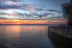 0194 (ElitePhotobox2) Tags: liverpool sunset river mersey wirral hdr luminance krita linux