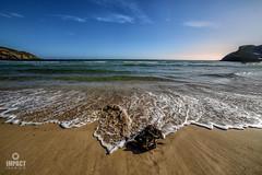 GB2 (Impact Imagz) Tags: garrybeach tolsta northtolsta isleoflewis westernisles outerhebrides beach traighgheiradha sand stone sea seashore seascapes bluesky clouds cloudscapes seaweed waves foam seafoam shore