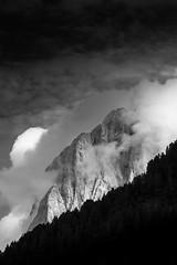 Sassolungo b/w #1 (Massimiliano Teodori) Tags: alpi dolomiti sassolungo ortisei valgardena biancoenero blackandwhite canon6d tamronspaf70300f456divcusd saslonch langkofel