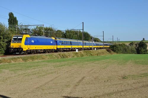 """En dan het hoogtepunt van de dag,de testrit met de NSR E186002 en NSR IC """"Benelux"""" /// And then the highlight of the day, the test drive with the NSR NSR and E186002 IC """"Benelux"""""""