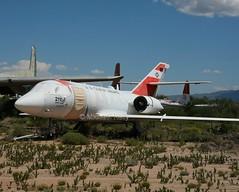 United States Coast Guard                         HU-25A  (Dassault Falcon 20)                          2115 (Flame1958) Tags: unitedstatescoastguard uscg coastguard dassaultfalcon20 falcon20 dassault dassault20 hu25 hu25a pima pimaairandspacemuseum 300816 0816 2016 arizona airmuseum 2115 1225