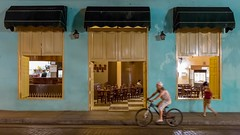 Empty and lonely bar (E.K.111) Tags: nightshots lowlightphotography lowlight tele topazdenoise lightroom6 people peopleallovertheworld
