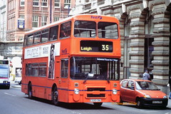 First Manchester 3220 (C220 CBU) (SelmerOrSelnec) Tags: firstmanchester leyland olympian northerncounties c220cbu manchester kingstreet gmt bus