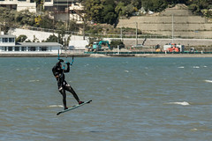 20160911_4776_7D2-200 Kite surfer getting air (255/366) (johnstewartnz) Tags: canon canonapsc apsc eos 7d2 7dmarkii 70200mm 70200 estuary kitesurfing kitesurder gettingair onephotoaday onephotoaday2016 project366 366the2016edition 3662016 day255366 11sep16 100canon unlimitedphotos