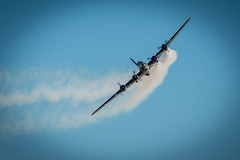 RS_160911_751.jpg (Gren269) Tags: b17 rafduxford ww2 aircraftportfolio smoke flyingfortress heavy bomber tribute eighthairforce memphisbelle airshow sallyb 2016 usaaf